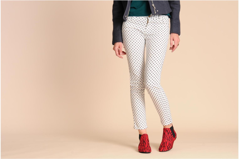 Bottines et boots Ippon Vintage Sunday Rouge vue bas / vue portée sac