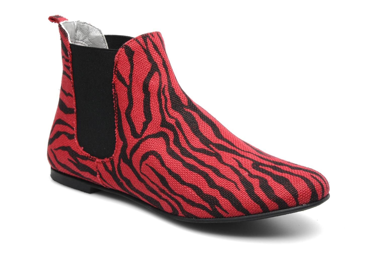 Bottines et boots Ippon Vintage Sunday Rouge vue détail/paire