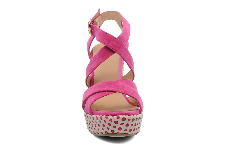 Sandals Elle Passy Pink model view