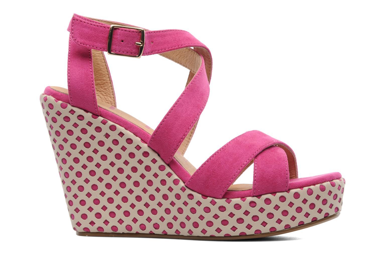 Sandals Elle Passy Pink back view