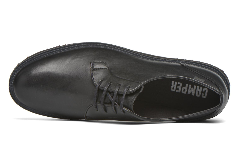 Chaussures à lacets Camper Magnus 18897 Noir vue gauche