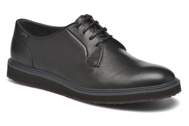 Chaussures à lacets Camper Magnus 18897 Noir vue détail/paire