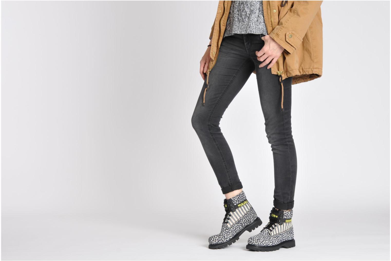 Stiefeletten & Boots Caterpillar COLORADO WALALA grau ansicht von unten / tasche getragen