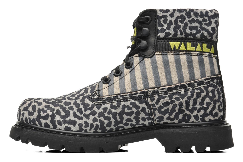Bottines et boots Caterpillar COLORADO WALALA Gris vue face