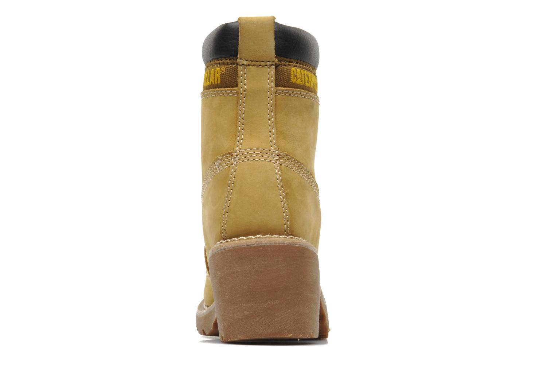 Bottines et boots Caterpillar OTTAWA Marron vue droite