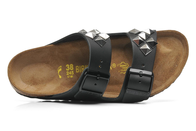 Clogs & Pantoletten Birkenstock Arizona Cuir W schwarz ansicht von links