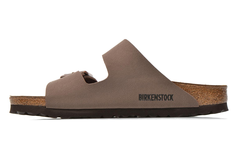 Mules et sabots Birkenstock Arizona Flor W Marron vue face