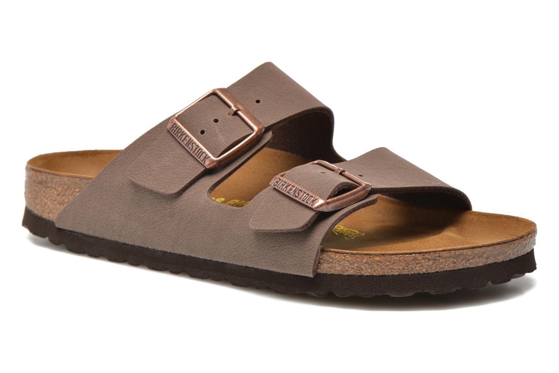 Clogs og træsko Birkenstock Arizona Flor W (Smal model) Brun detaljeret billede af skoene