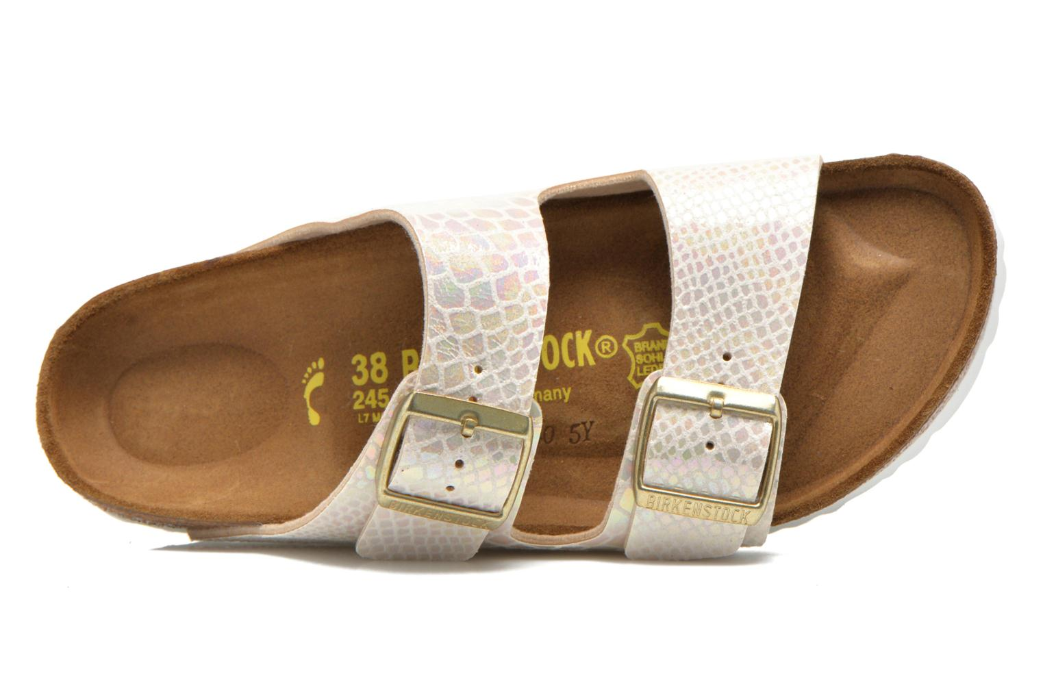 Mules & clogs Birkenstock Arizona Flor W Beige view from the left