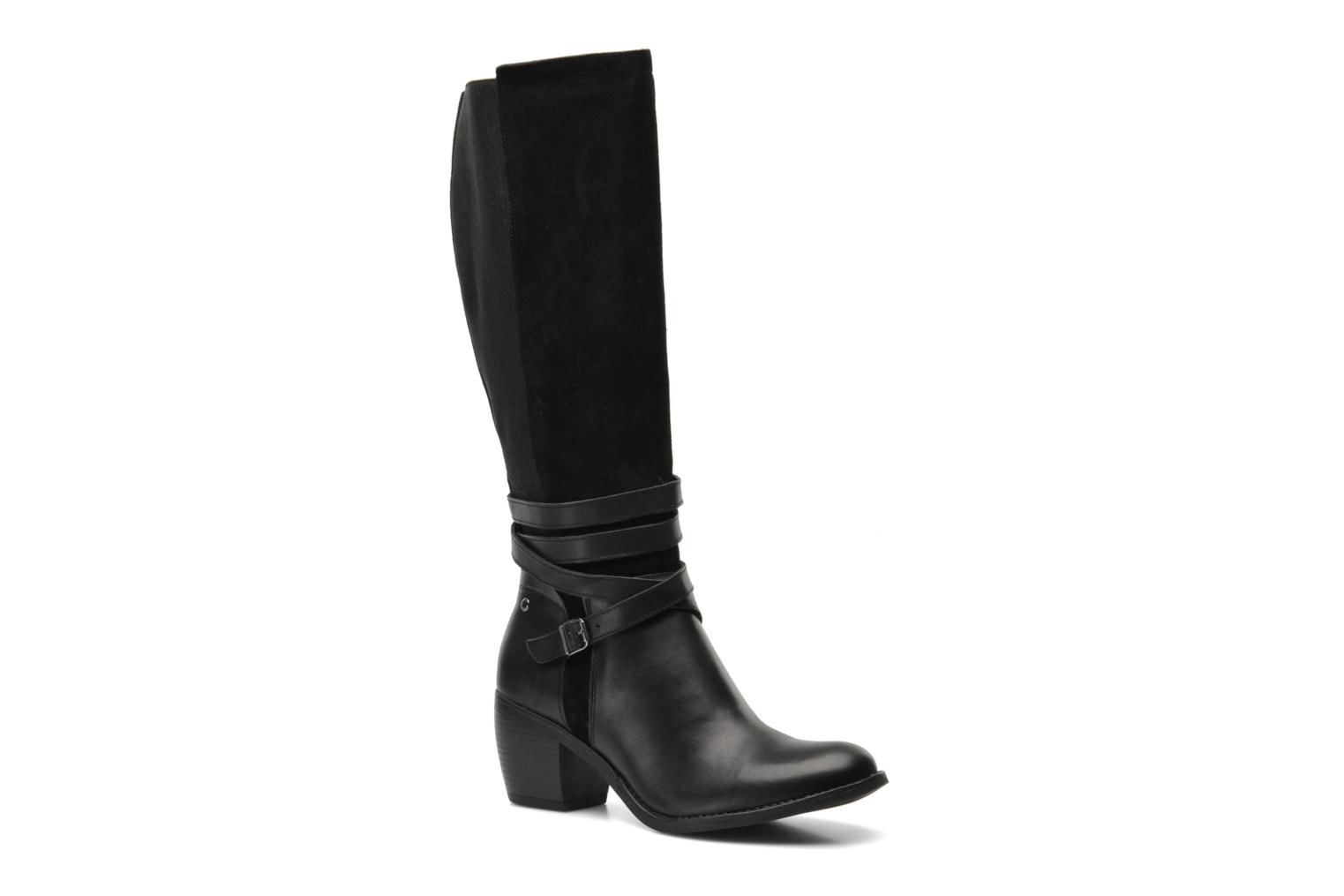 Laarzen Hush Puppies Malory Rustique Zwart detail