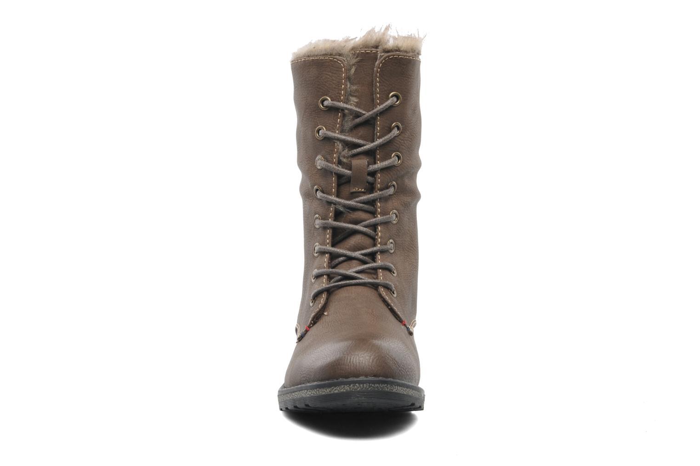Bottines et boots I Love Shoes Suzui Marron vue portées chaussures