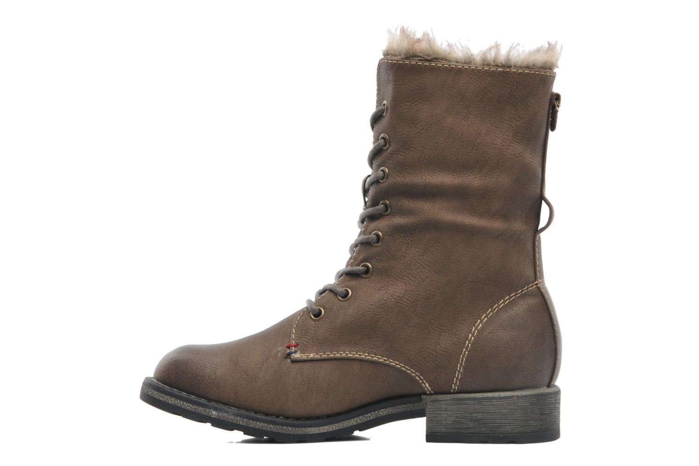 Bottines et boots I Love Shoes Suzui Marron vue face