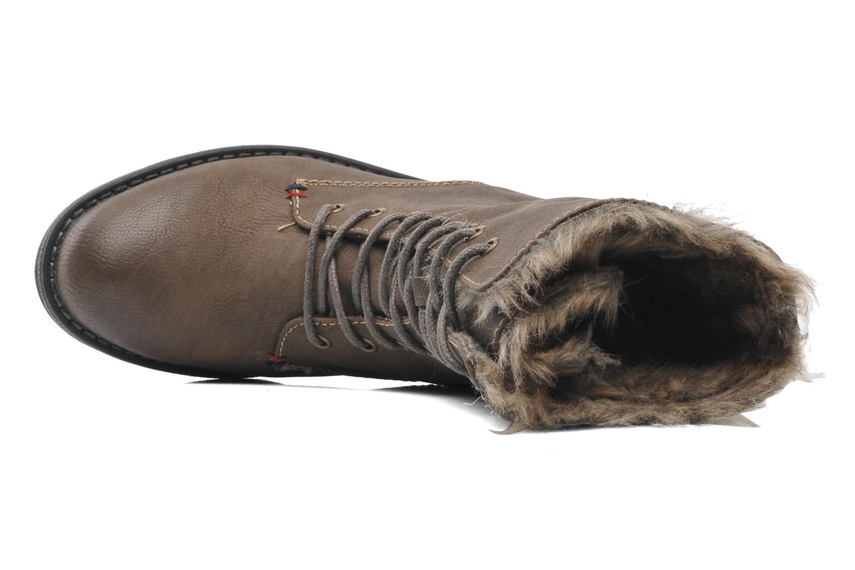 Stiefeletten & Boots I Love Shoes Suzui braun ansicht von links