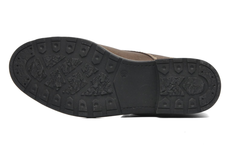 Bottines et boots I Love Shoes Suzui Marron vue haut