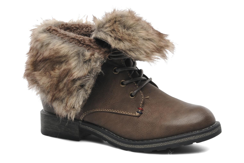 Bottines et boots I Love Shoes Suzui Marron vue détail/paire