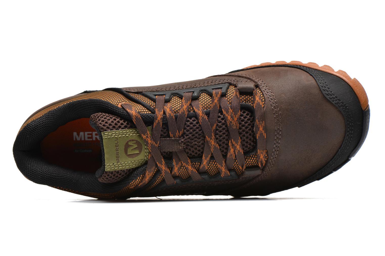 Scarpe sportive Merrell ANNEX Marrone immagine sinistra