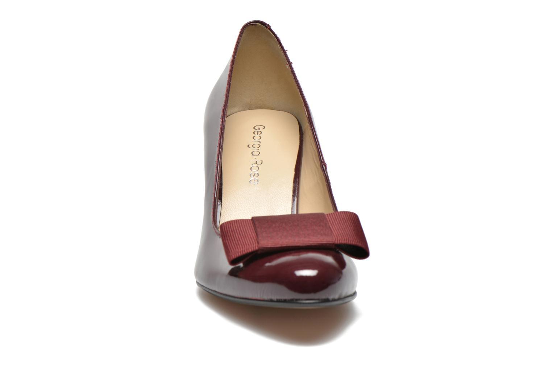 Escarpins Georgia Rose Santoora Bordeaux vue portées chaussures