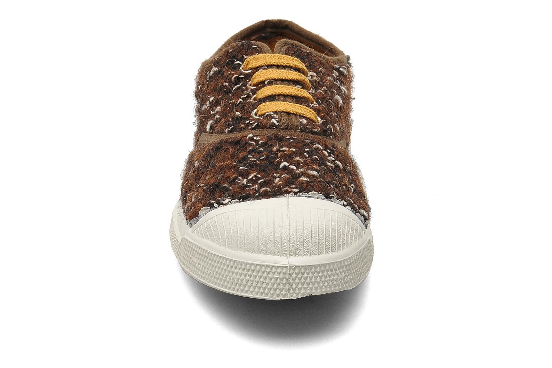 Sneaker Bensimon Tennis Lacets Tweedy braun schuhe getragen