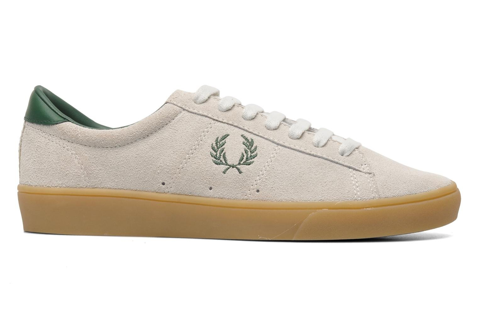 Sneakers Fred Perry Spencer Suede Beige achterkant