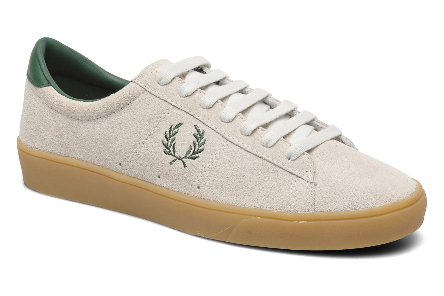 Sneakers Fred Perry Spencer Suede Beige detail