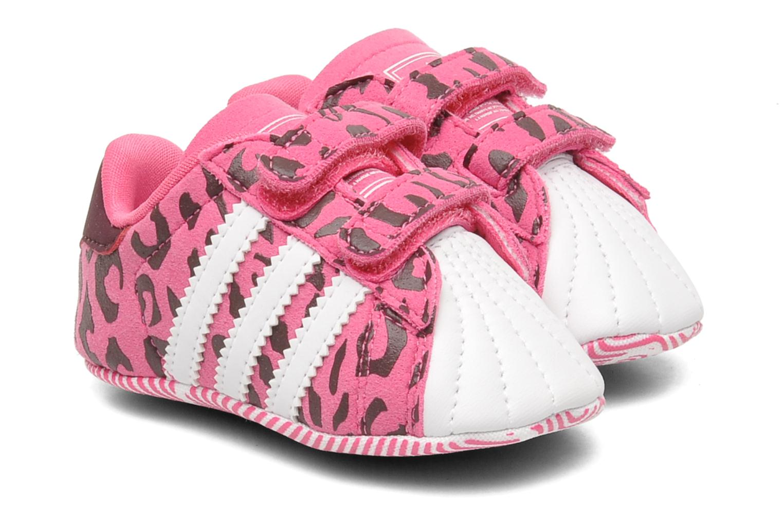 adidas originali superstar 2 culla (rosa), formatori chez sarenza