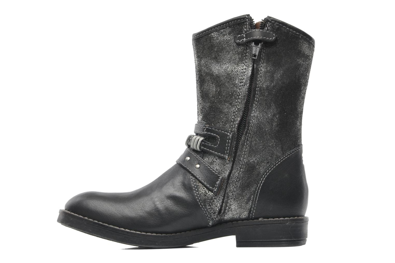 Ankle boots Noël FOUGERES Black front view