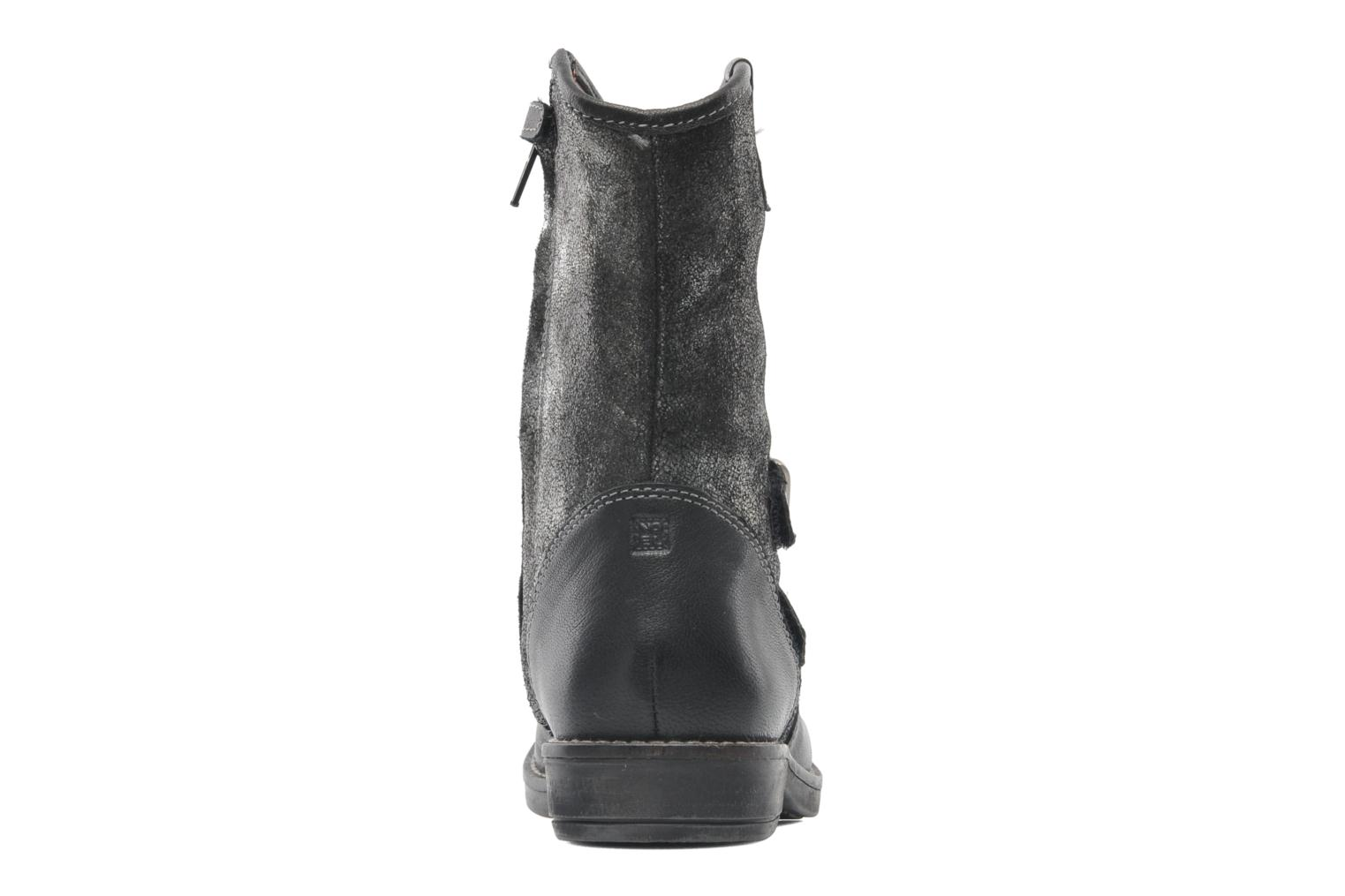 Ankle boots Noël FOUGERES Black view from the right