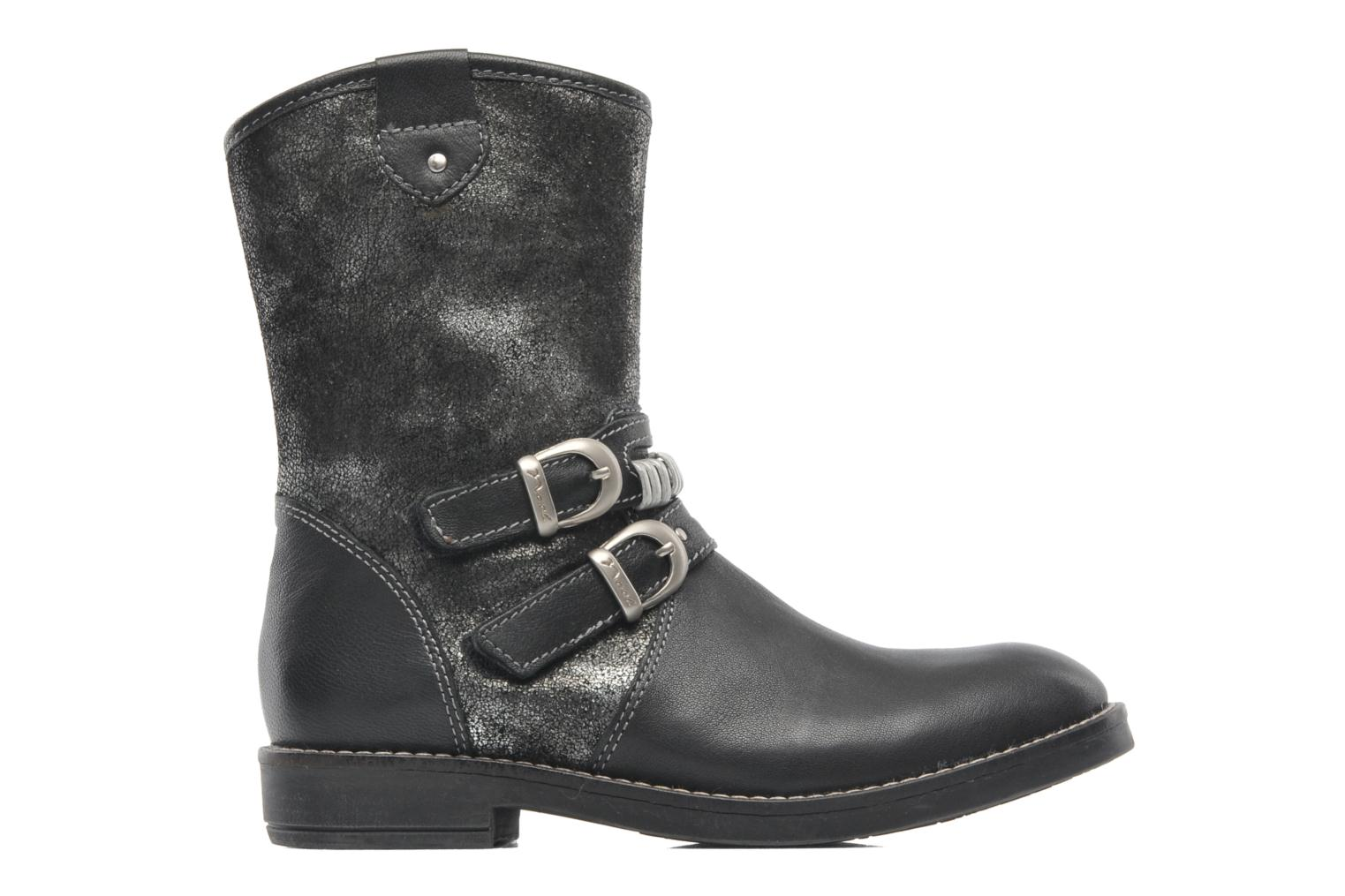 Ankle boots Noël FOUGERES Black back view
