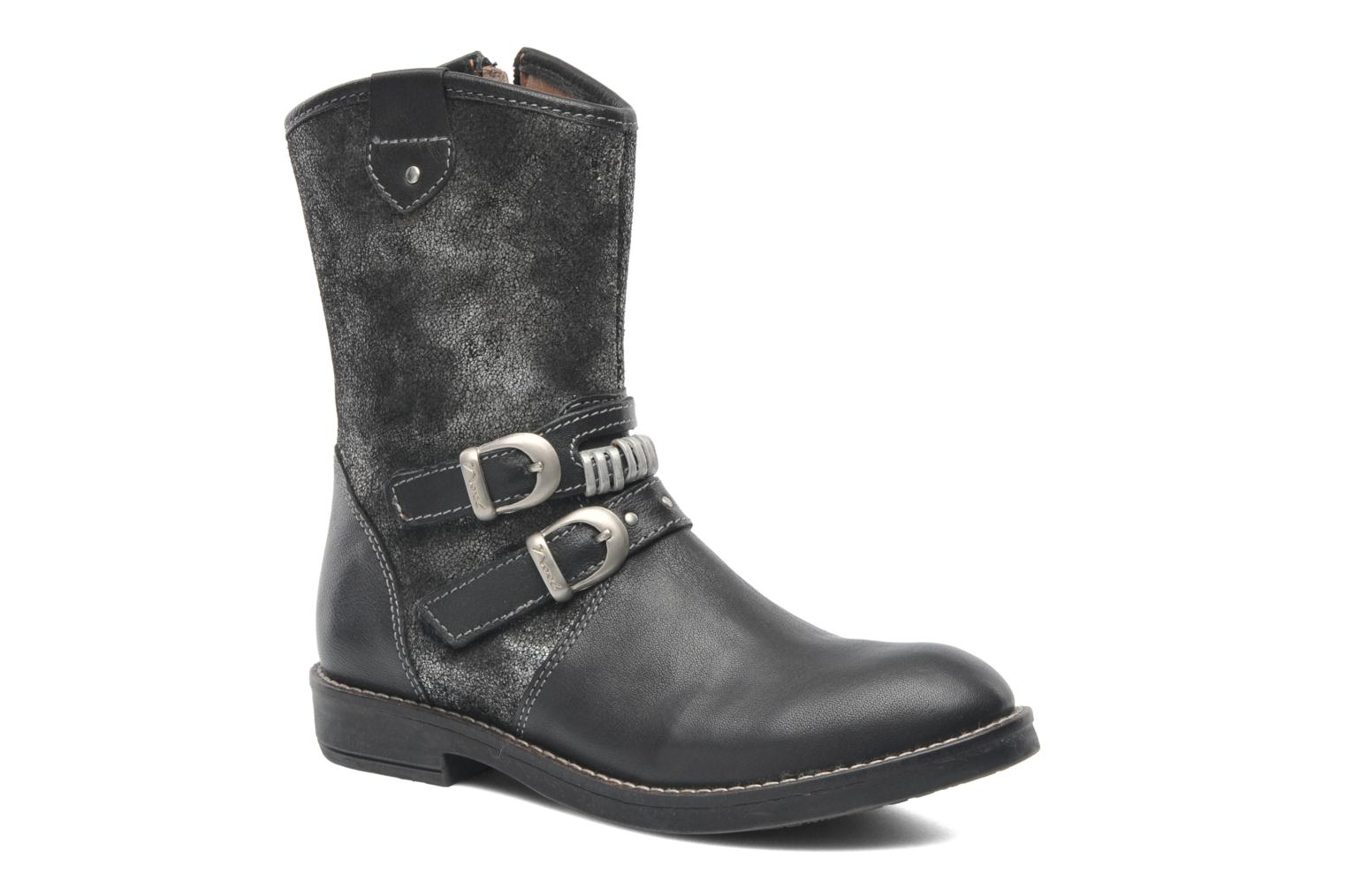 Ankle boots Noël FOUGERES Black detailed view/ Pair view