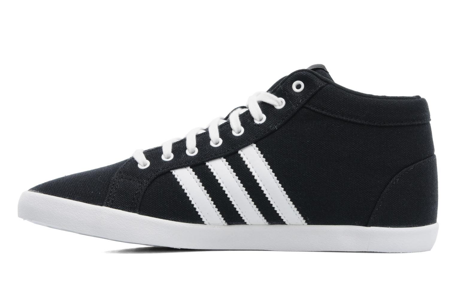 Trainers Adidas Originals Adria Ps 3S Mid W Black front view