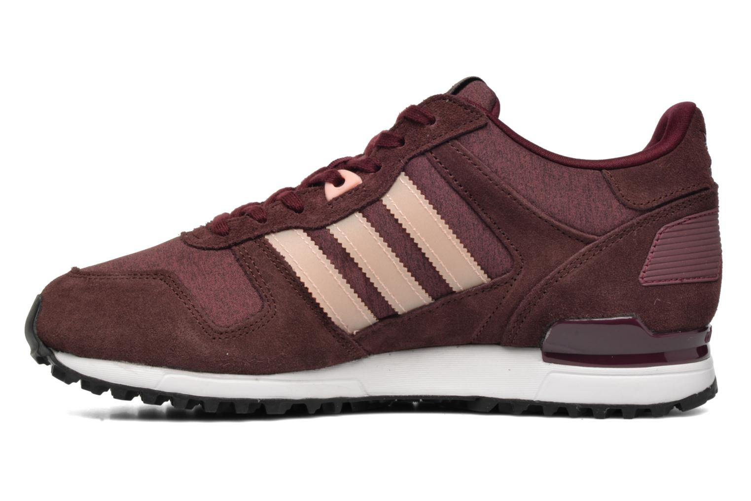 Sneakers Adidas Originals Zx 700 W Bordò immagine frontale