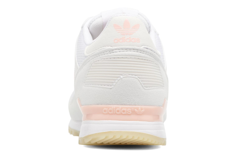 Deportivas Adidas Originals Zx 700 W Rosa vista lateral derecha