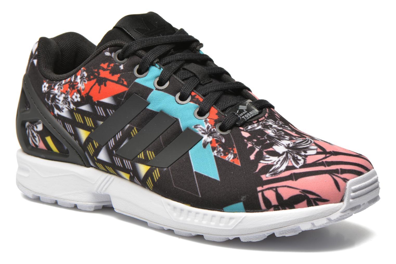 Baskets Adidas Originals Zx Flux W Noir vue détail/paire