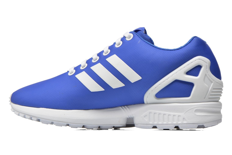 Baskets Adidas Originals Zx Flux W Bleu vue face