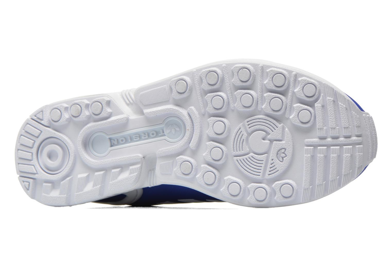 Baskets Adidas Originals Zx Flux W Bleu vue haut