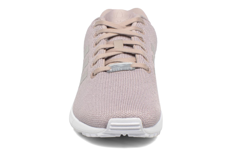 Sneaker Adidas Originals Zx Flux W grau schuhe getragen