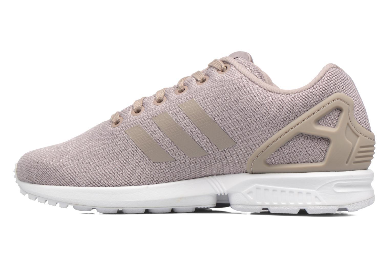 Sneaker Adidas Originals Zx Flux W grau ansicht von vorne