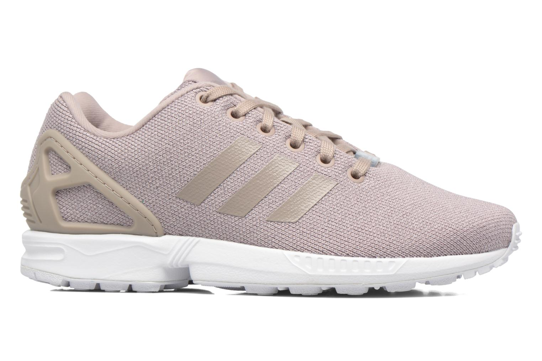 Sneaker Adidas Originals Zx Flux W grau ansicht von hinten