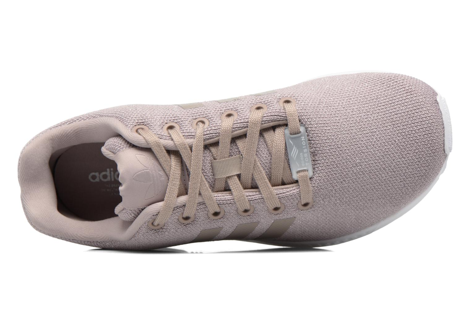 Baskets Adidas Originals Zx Flux W Gris vue gauche