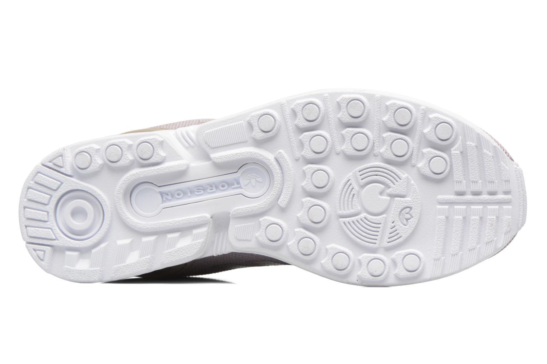 Sneaker Adidas Originals Zx Flux W grau ansicht von oben