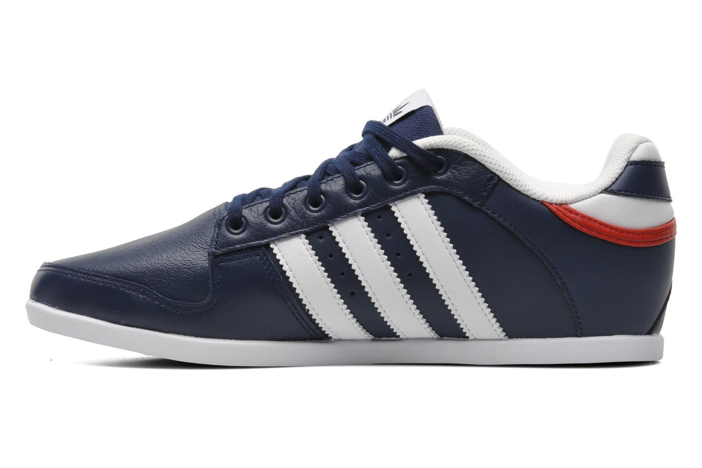 Sneaker Adidas Originals Plimcana 2.0 Low blau ansicht von vorne