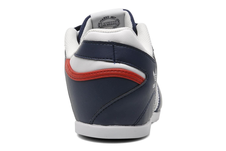 Sneaker Adidas Originals Plimcana 2.0 Low blau ansicht von rechts