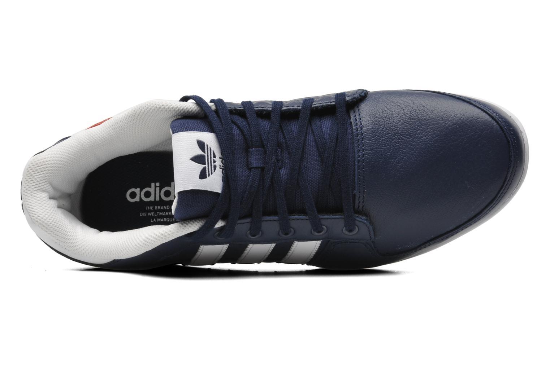 Baskets Adidas Originals Plimcana 2.0 Low Bleu vue gauche