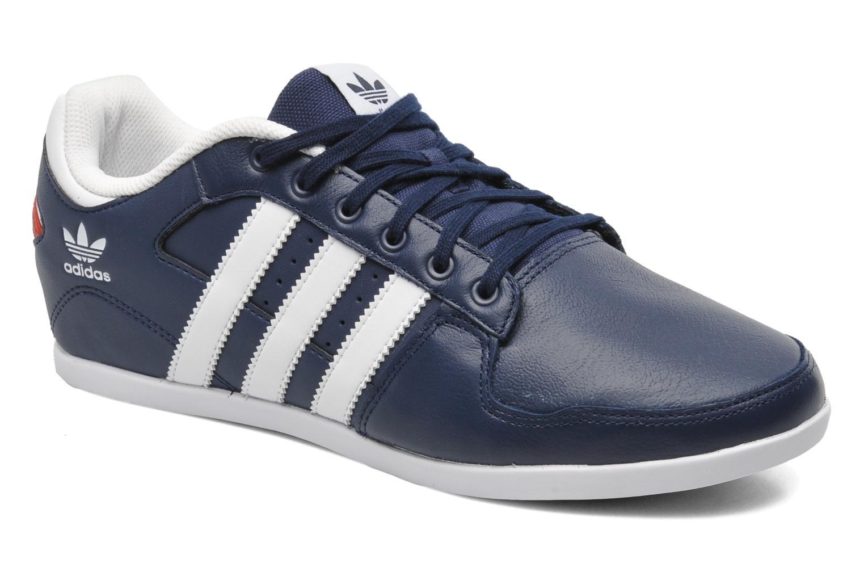 Baskets Adidas Originals Plimcana 2.0 Low Bleu vue détail/paire