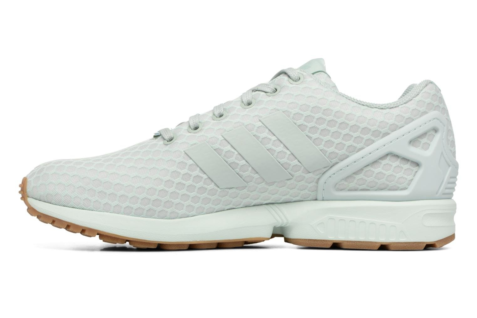 Trainers Adidas Originals Zx Flux Green front view