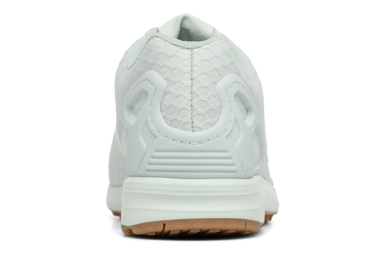 Baskets Adidas Originals Zx Flux Vert vue droite