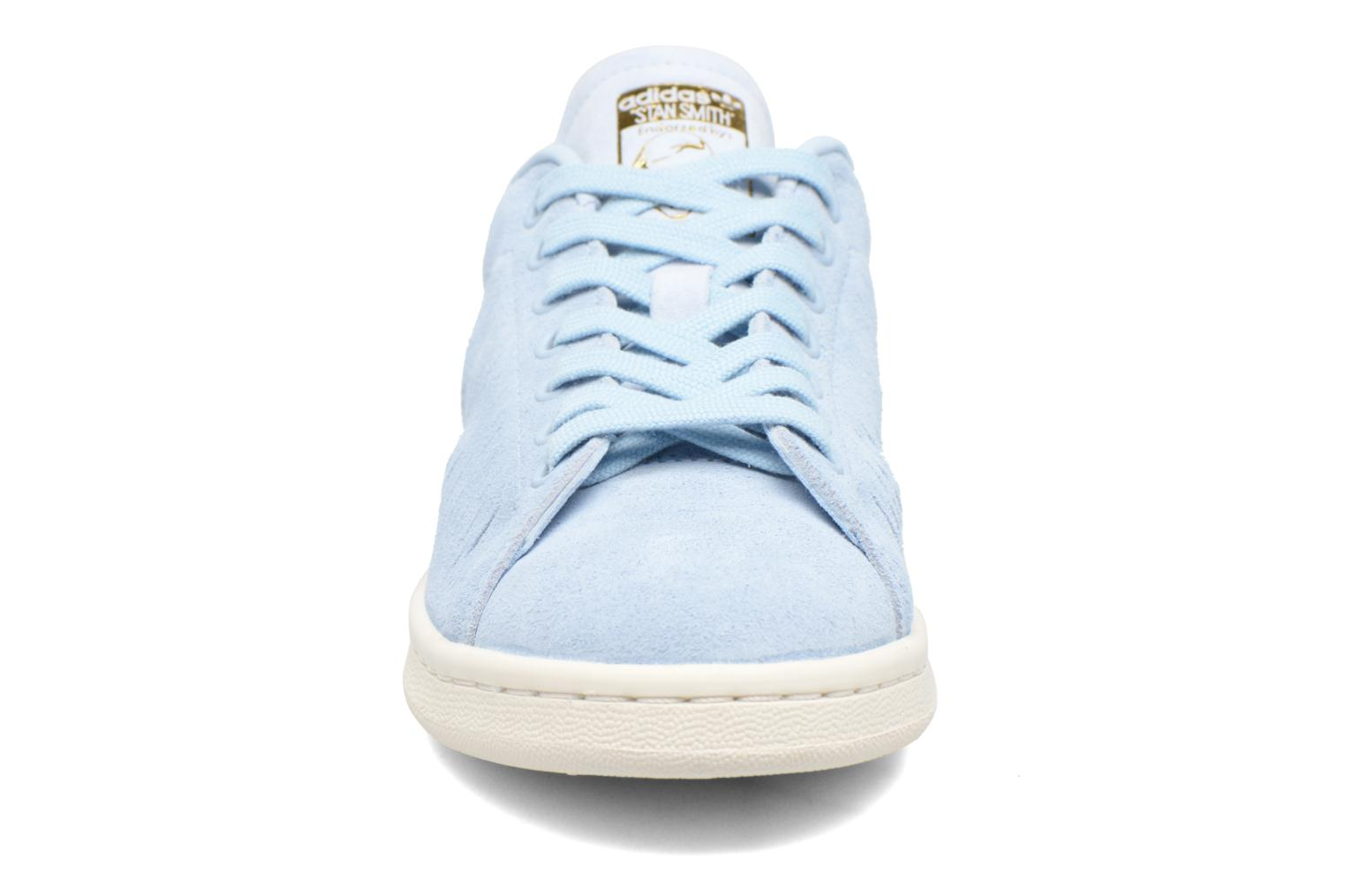 Deportivas Adidas Originals Stan Smith W Azul vista del modelo