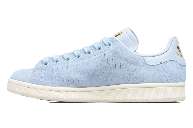 Baskets Adidas Originals Stan Smith W Bleu vue face