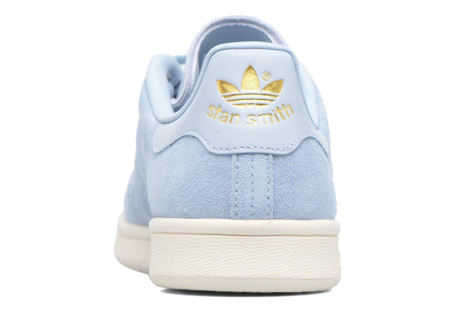 Deportivas Adidas Originals Stan Smith W Azul vista lateral derecha