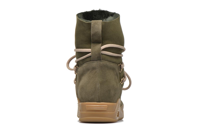 Boots en enkellaarsjes Serafini Moon Groen rechts